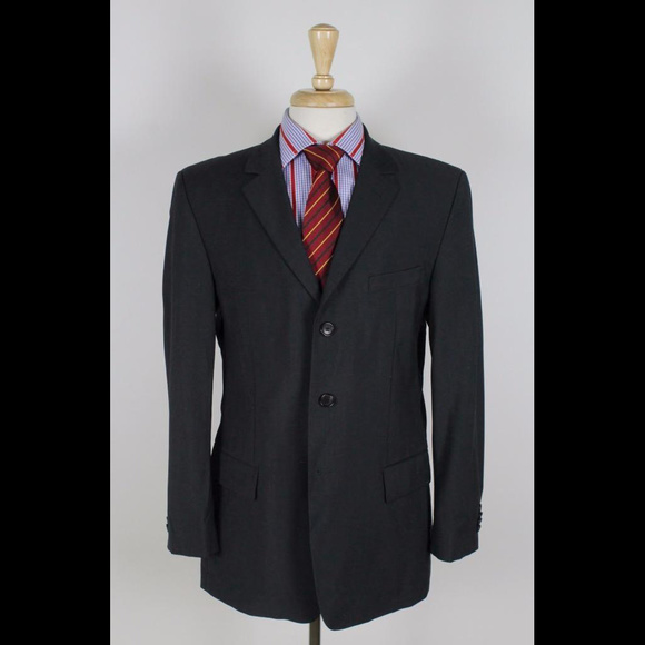 14118e0cd Hugo Boss Suits & Blazers | 40s Blue Woolcashmere 3b Sport Coat 902 ...